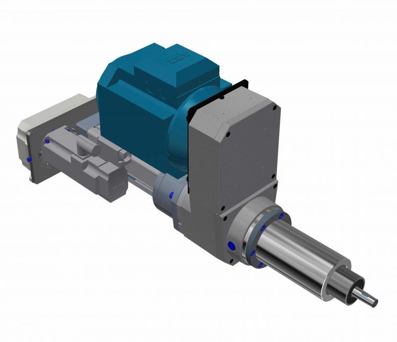 CNC machining units