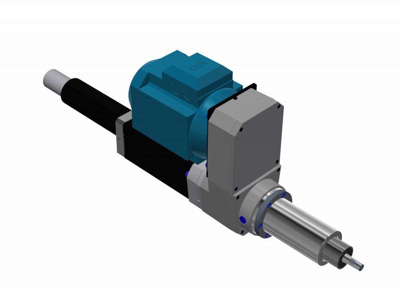 Electro-pneumatic drilling units