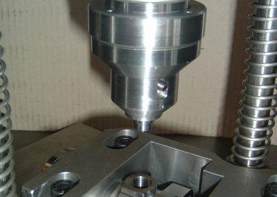 HP body. Customized valve fitting equipment