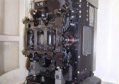 V6 engine crankcases